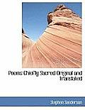 Poems Chiefly Sacred Original and Translated