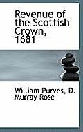 Revenue of the Scottish Crown, 1681