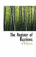 The Register of Baptisms