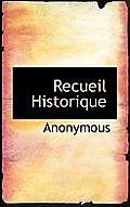 Recueil Historique