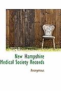 New Hampshire Medical Society Records