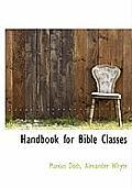Handbook for Bible Classes