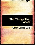 The Things That Abide