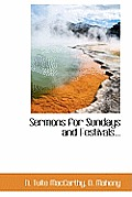 Sermons for Sundays and Festivals...