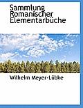 Sammlung Romanischer Elementarbuche