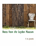 Notes from the Leyden Museum