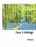 Cours D Archdogic