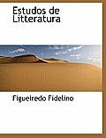 Estudos de Litteratura