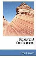 Discours Et Conf Rences