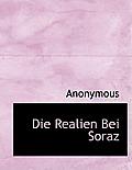 Die Realien Bei Soraz