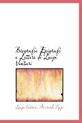 Biografie Epigrafi E Lettere Di Luigi Venturi