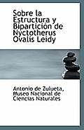 Sobre La Estructura y Biparticion de Nyctotherus Ovalis Leidy