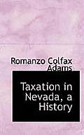 Taxation in Nevada, a History