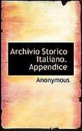 Archivio Storico Italiano. Appendice