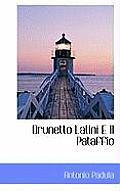 Brunetto Latini E Il Pataffio