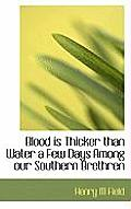 Blood Is Thicker Than Water a Few Days Among Our Southern Brethren