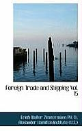 Foreign Trade and Shipping Vol. 15