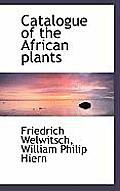 Catalogue of the African Plants