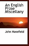 An English Prose Miscellany