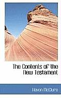 The Contents of the New Testament