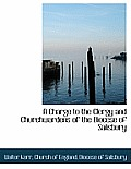 A Charge to the Clergy and Churchwardens of the Diocese of Salisbury