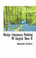 Dzieje Literatury Polskiej W Zarysie Tom II