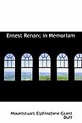 Ernest Renan; In Memoriam
