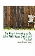 The Gospel According to St. John: With Notes Critical and Practical