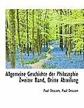 Allgemeine Geschichte Der Philosophie Zweiter Band, Dritte Abteilung