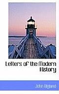 Letters of the Modern History