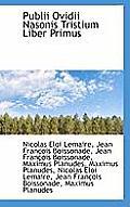 Publii Ovidii Nasonis Tristium Liber Primus