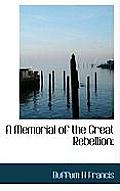A Memorial of the Great Rebellion