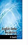 English-Sotho Vocabulary