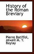 History of the Roman Breviary