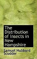 The Distribution of Insects in New Hampshire