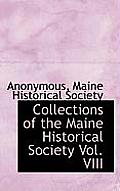 Collections of the Maine Historical Society Vol. VIII
