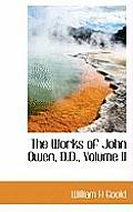 The Works of John Owen, D.D., Volume II