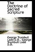 The Doctrine of Sacred Scripture
