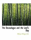 The Decatalogue and the Lord's Day