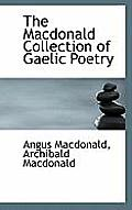 The MacDonald Collection of Gaelic Poetry