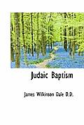 Judaic Baptism