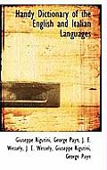 Handy Dictionary of the English and Italian Languages