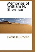 Memories of William N. Sherman