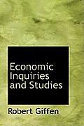 Economic Inquiries and Studies