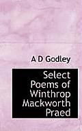 Select Poems of Winthrop Mackworth Praed