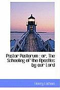 Pastor Pastorum: Or, the Schooling of the Apostles by Our Lord