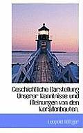 Geschichtliche Darstellung Unserer Kenntnisse Und Meinungen Von Den Korallenbauten.