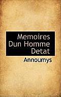 Memoires Dun Homme Detat