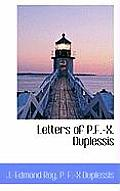 Letters of P.F.-X. Duplessis