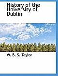 History of the University of Dublin
